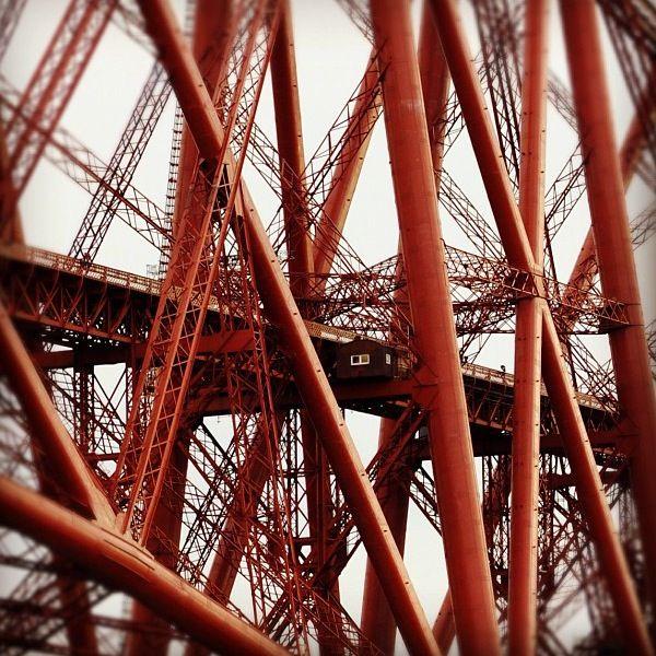 Close up of forth rail bridge detail #geometric # ...