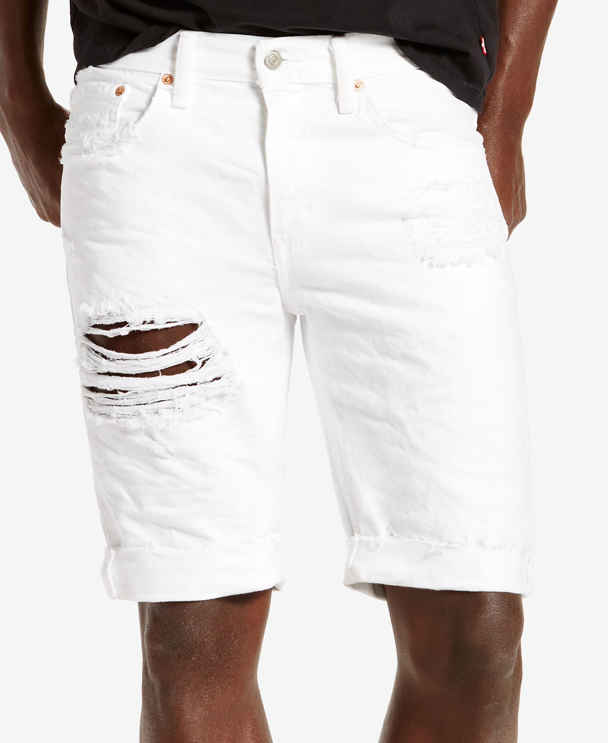 b02d30b4ca Levi's Men's 511 Slim-Fit Cutoff Ripped Jean Shorts #MensJeans ...