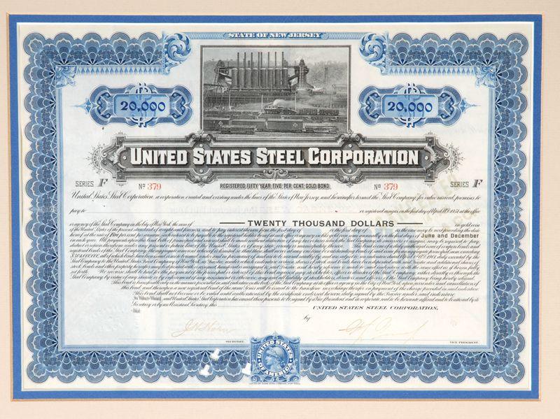 Andrew Carnegie 1901  - best of corporate stock certificate template word