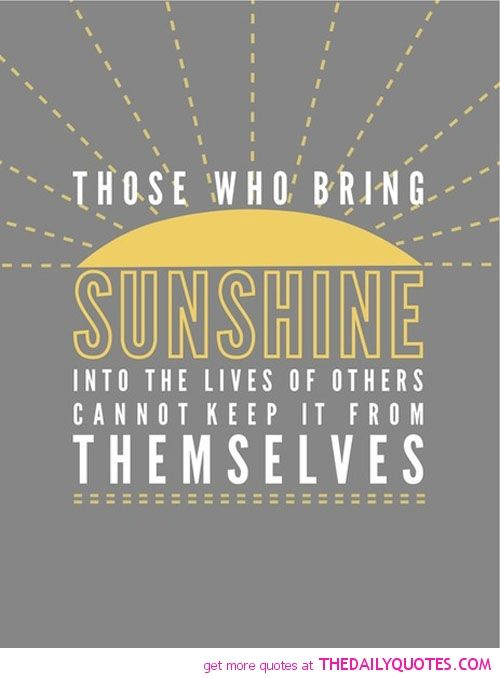 Sunshine Quotes With Images Free Inspirational Quotes