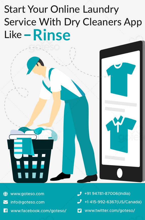 Start Your Online Laundry Service With Dry Cleaners App Like Rinse