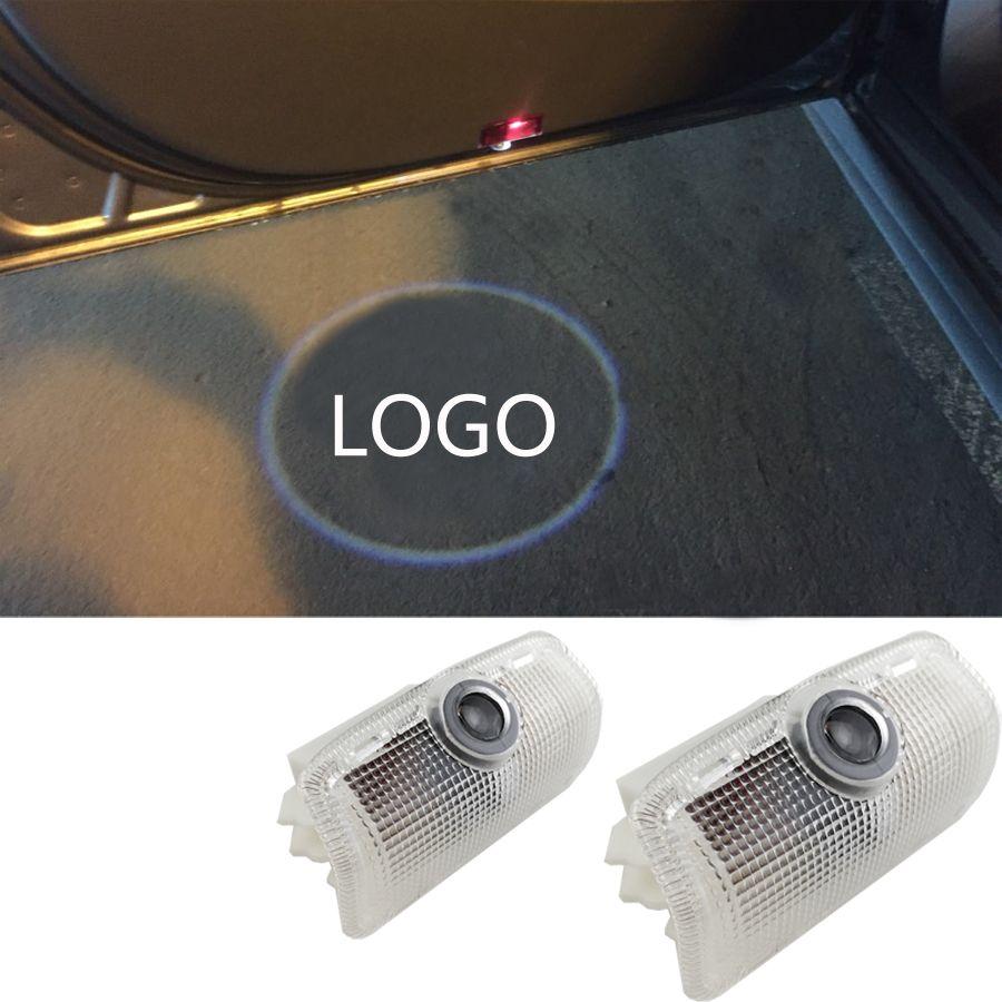 Car door light ghost shadow light logo projector