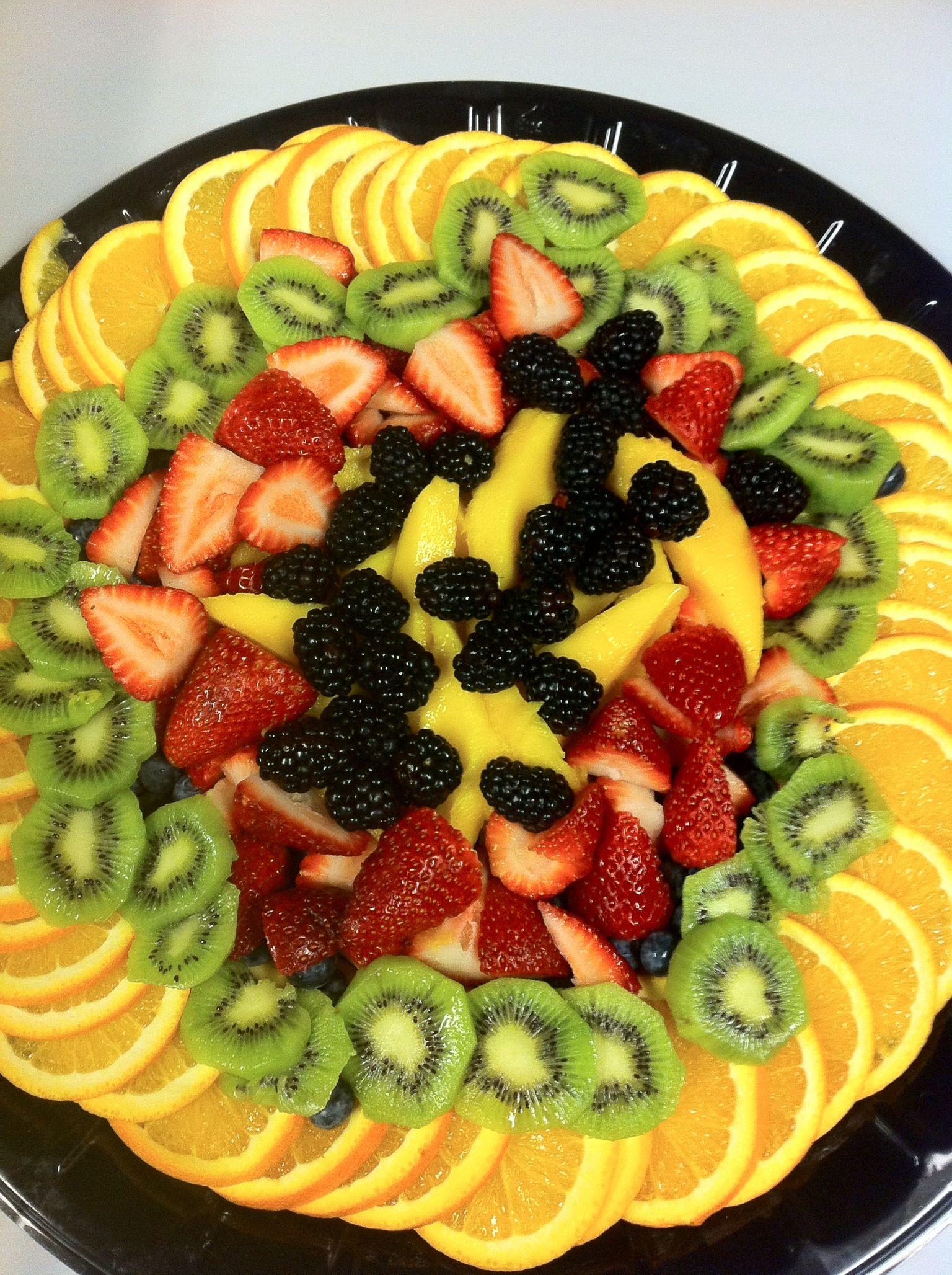 Simple Fruit Platter