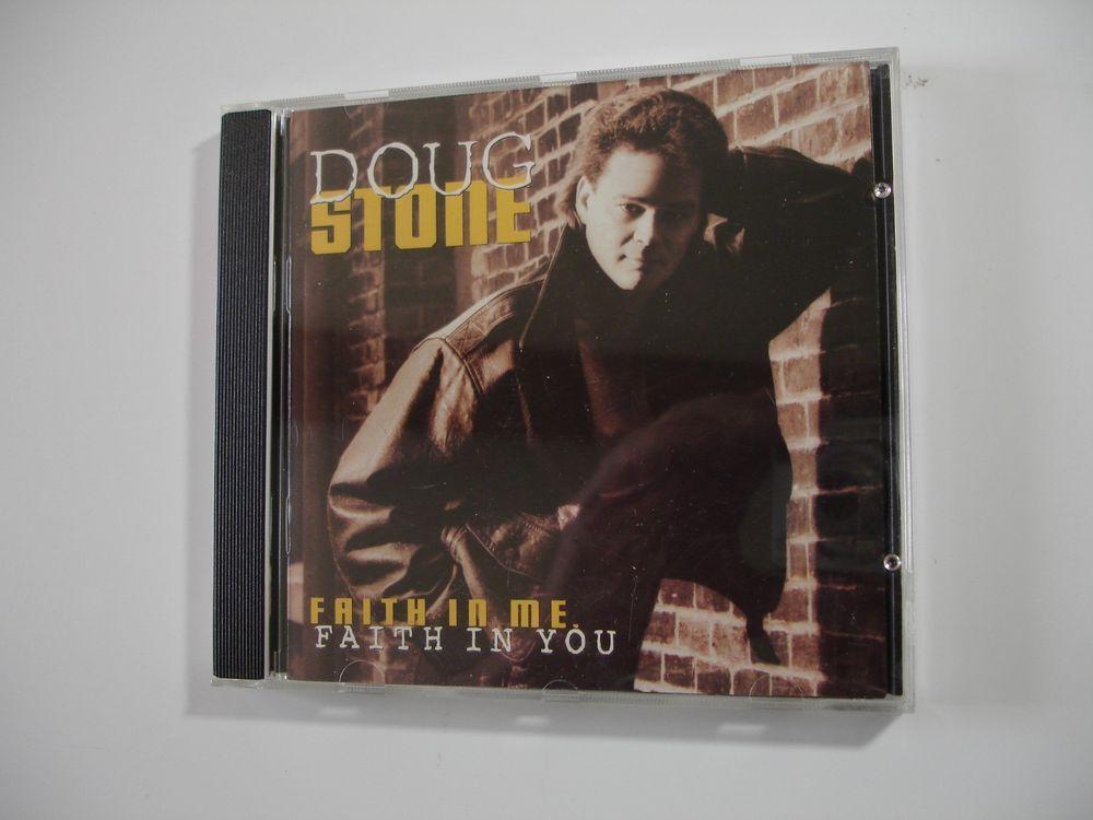 Faith in Me, Faith in You by Doug Stone (CD, Mar-1995, Sony Music... #ContemporaryCountry