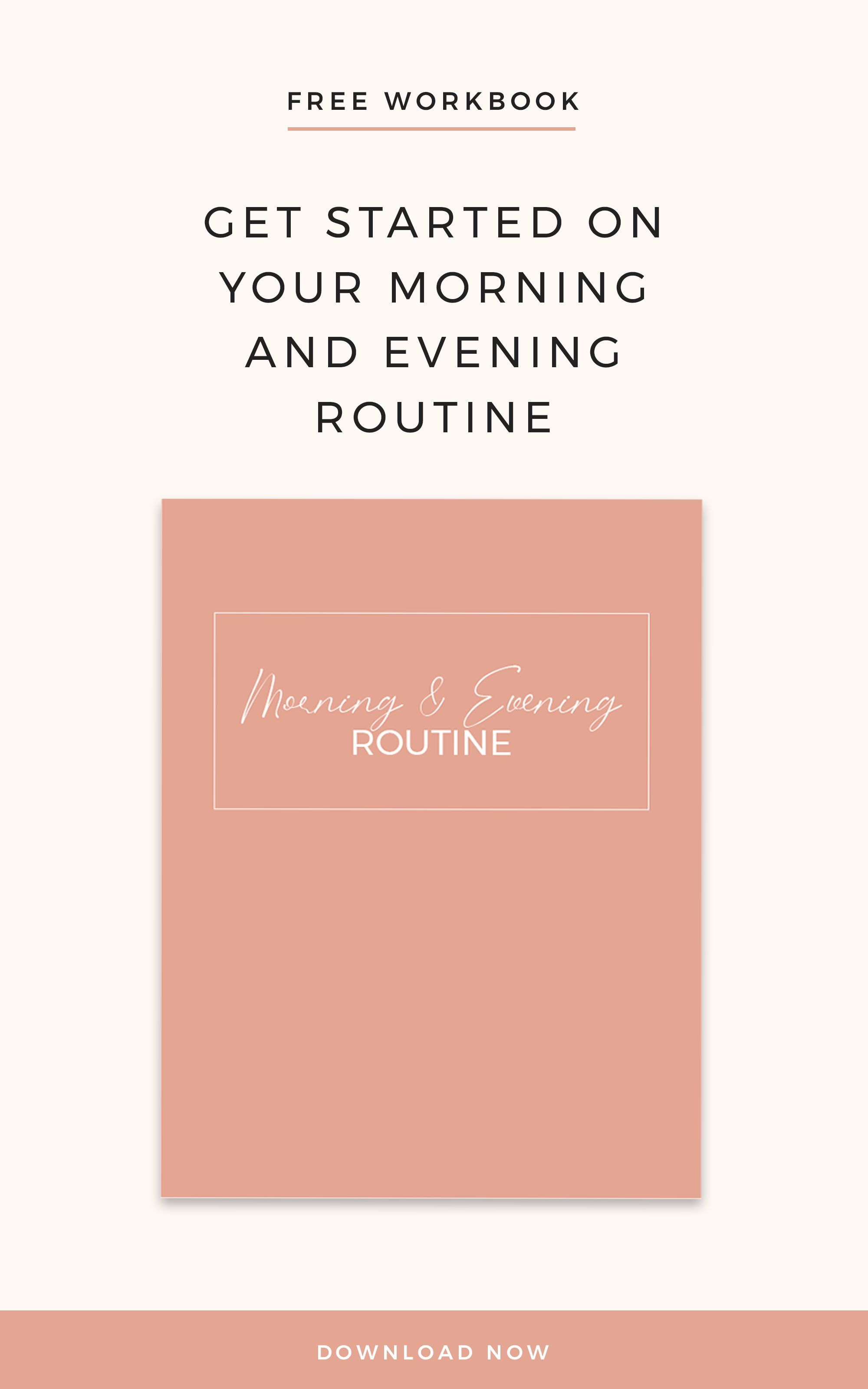 Get Started On Your Morning And Evening Routine With This