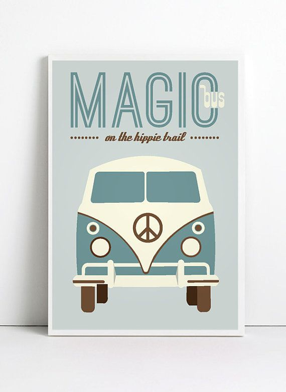 Inspirational quote print poster A3 hippie print by angelaferrara, $19.99