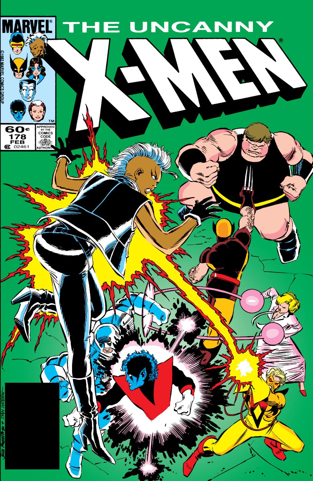 Uncanny X Men 178 February 1984 In 2020 Comics Marvel Comics The Uncanny