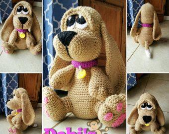 Amigurumi Lion Perritos : Basset hound puppy amigurumi crochet amigurumis pinterest