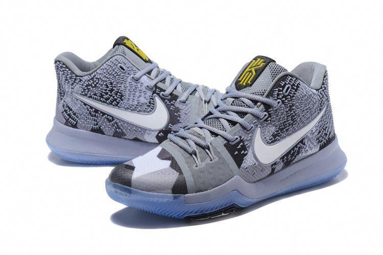 "1fb8e42abd8 Nike Kyrie 3 ""Girls EYBL"" Cool Grey Sail-Black Basketball Shoes   basketballshoes"