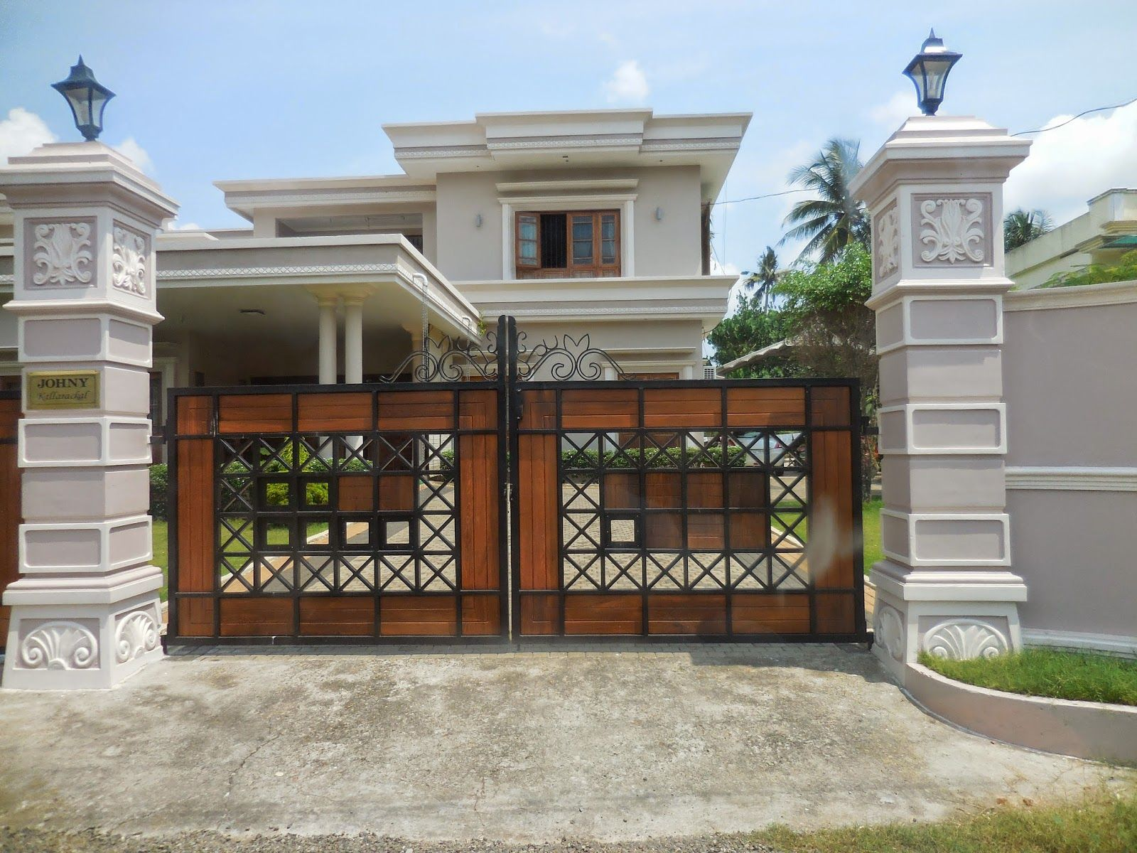 Icymi House Gate Photos Kerala Casas In 2019 House Gate