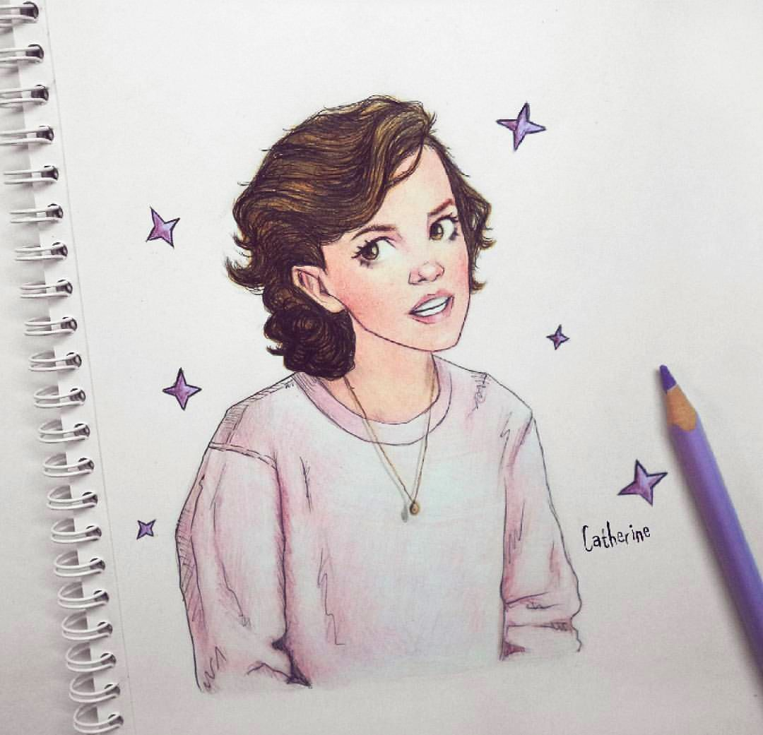 Stranger Things Millie Bobby Brown By Catherine Art Catherine Stranger Things Art Stranger Things Fanart Cast Stranger Things