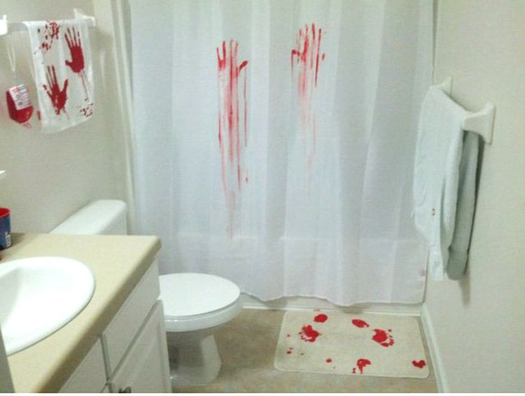 the bathroom blog halloween decoration ideas for the scariest - Halloween Bathroom Decorations