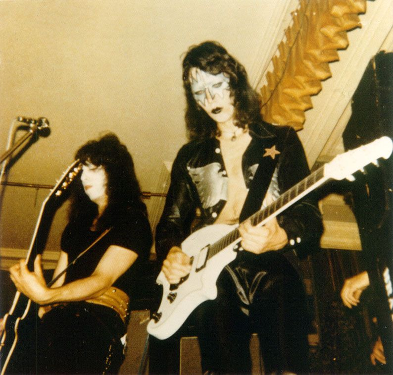 The Ovation Breadwinner And Deacon Ace Frehley Vintage Kiss