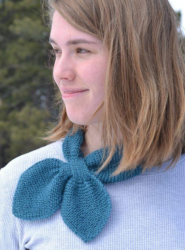 Free knitting pattern for Martha Stewart Neck Wrap | Knitting ...
