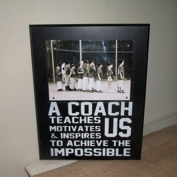 coach gift coach frame
