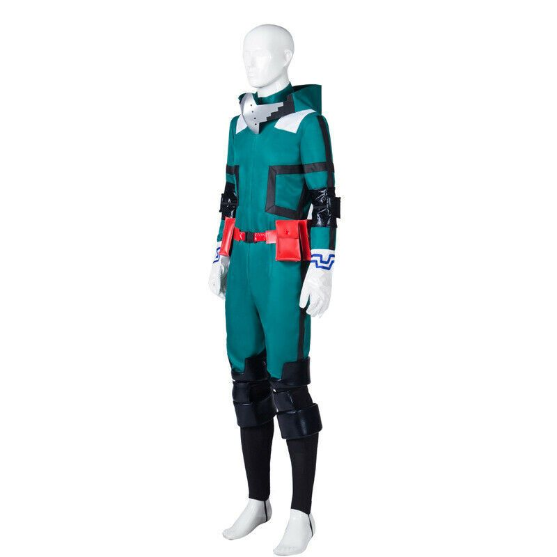NEW My Hero Academia Izuku Midoriya Cosplay costume Deku Battle outfit Costume!a