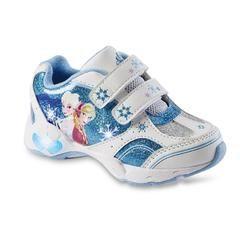 8550c92273e1 Toddler Girl's Frozen Sneaker - Blue/White - Sears   They Don't Make ...