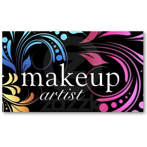 Bold Makeup Artist Business Cards Makeup Artist Business Cards - Makeup artist business cards templates free