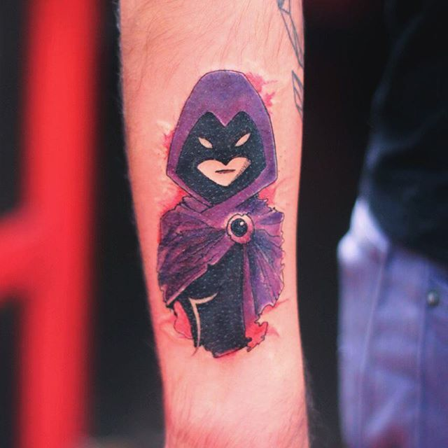 azarath metrion zinthos #ink #tattoo #raven #dc #dccomics