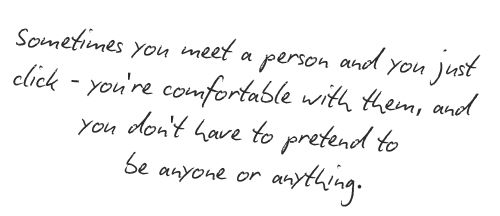 advice for meeting someone special