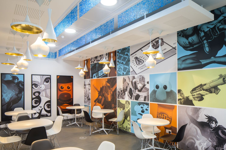 retro office design. Office Interior Design | #retro Hasbro Wall #toys #mural Retro L