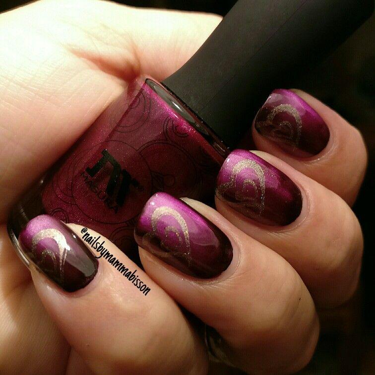 nail art stämpling