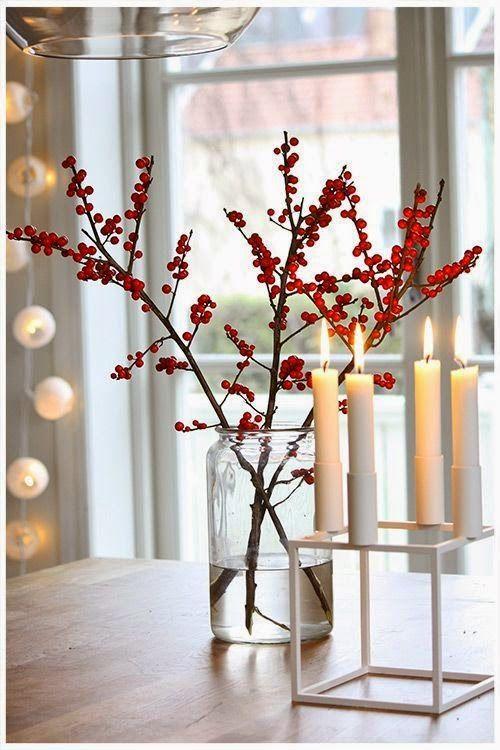 Pequeñas ideas para decorar la mesa en navidad