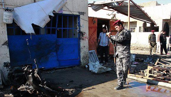 مقتل 5 زوار إيرانيين ببغداد إثر انفجار سيارة