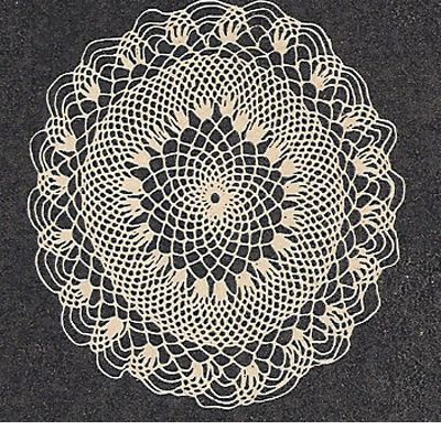 Small Honeycomb Doily Crochet Pattern | carpetas | Pinterest