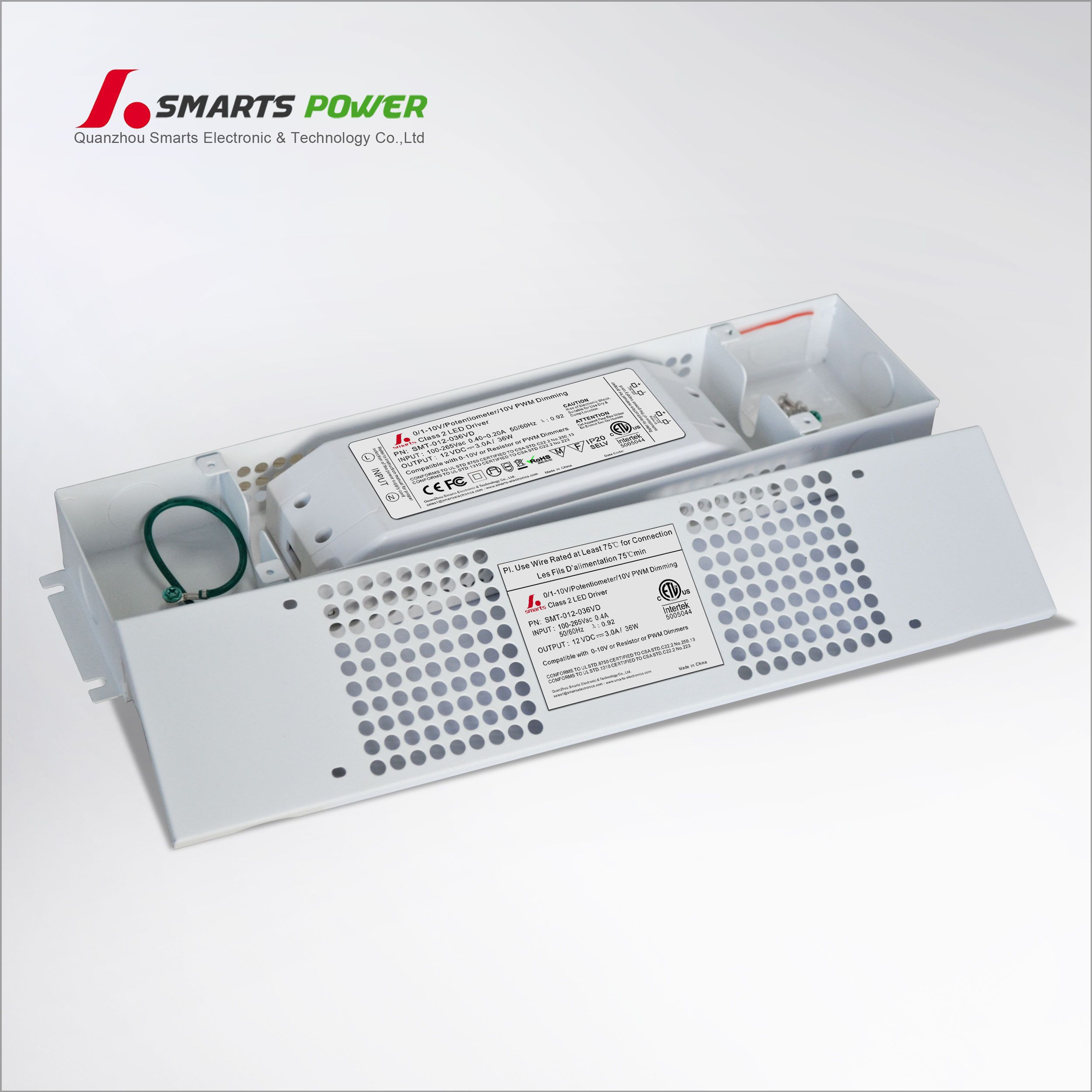 China 0 10v Dimming Led Drivers 36w Manufacturers And Suppliers Factory Price Smarts Power