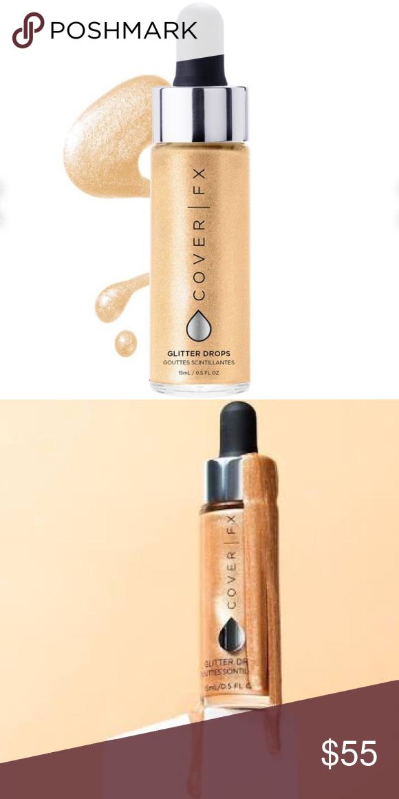 COVER FX Glitter Drops Nova NWT Sephora makeup, Cover fx