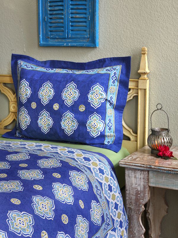 Moroccan Theme Style Quatrefoil PILLOW COVERRest Your Head Upon Our Mesmerizing Pillow That Covers Your Head