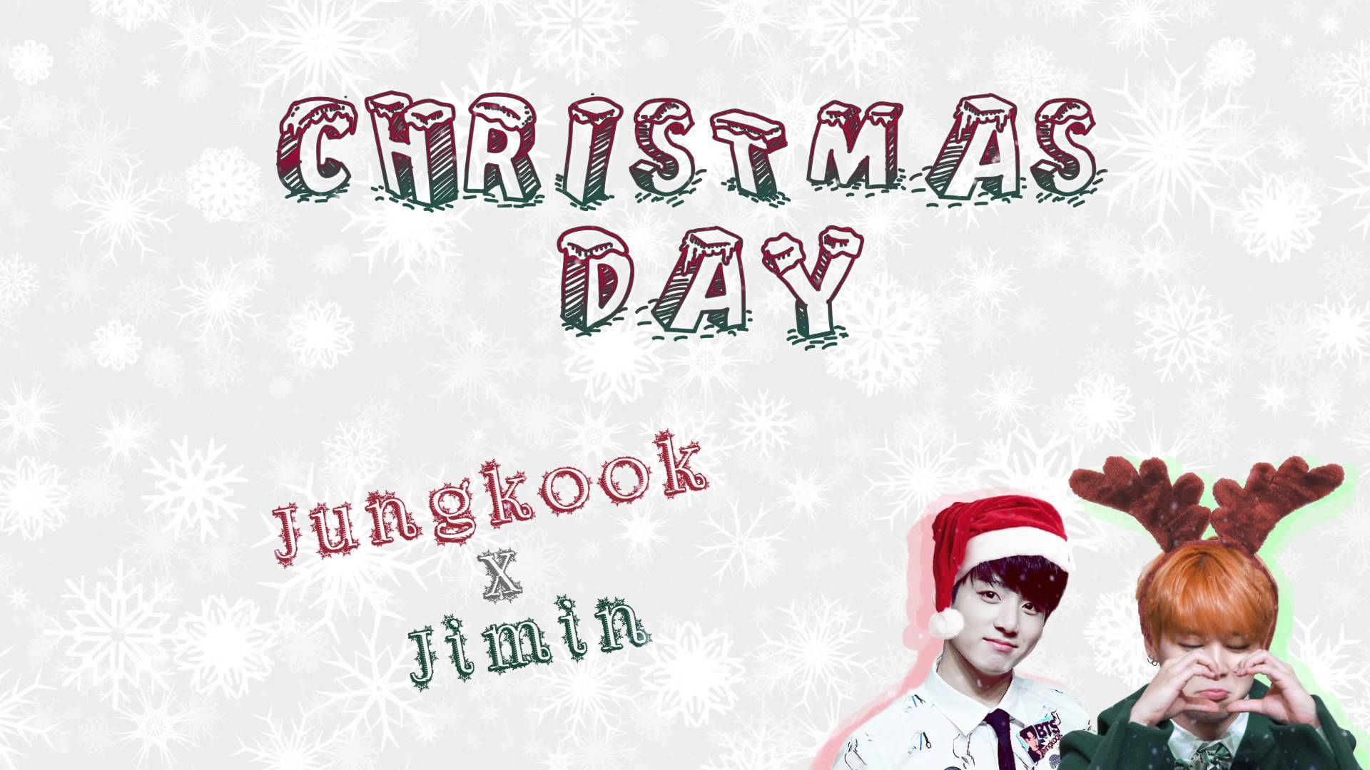 ⌈MERRY XMAS⌋ Jimin x Jungkook Christmas Day [Color