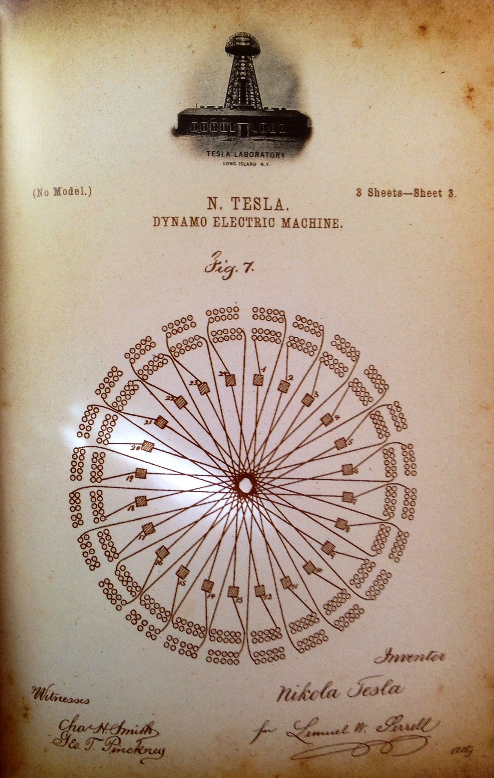 dynamo electric machine tesla electric tesla and n tesla dynamo electric machine