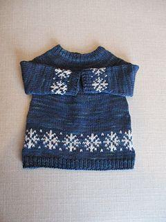 3b95d1323 Little Flurry Sweater pattern by Melissa Kemmerer