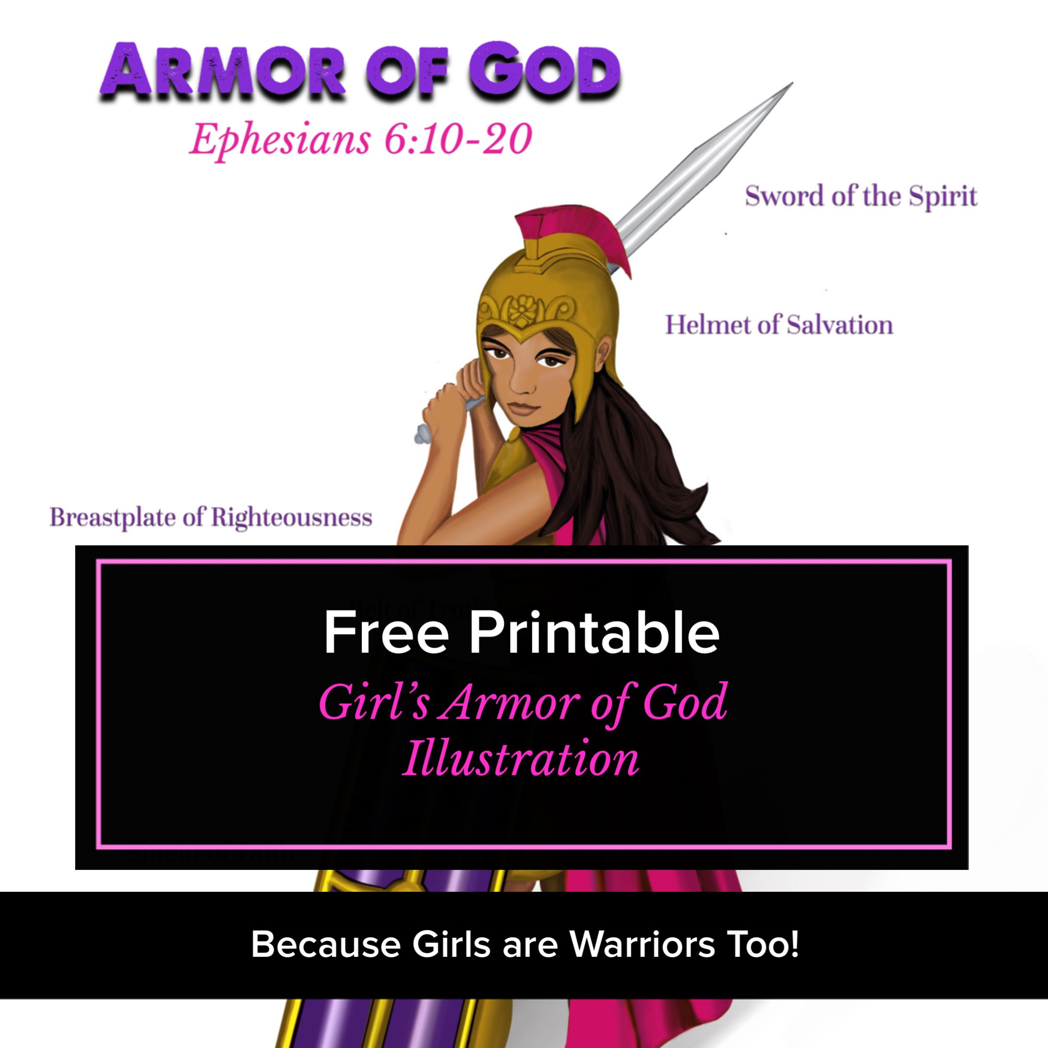 Because Girls Are Warriors Too Fruitfully Living Girls