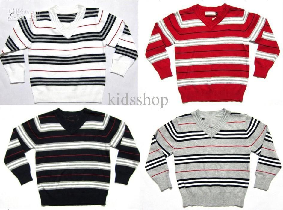 buy wholesale - Cheap Fashion Knitting Patterns Toddlers Stripe ...