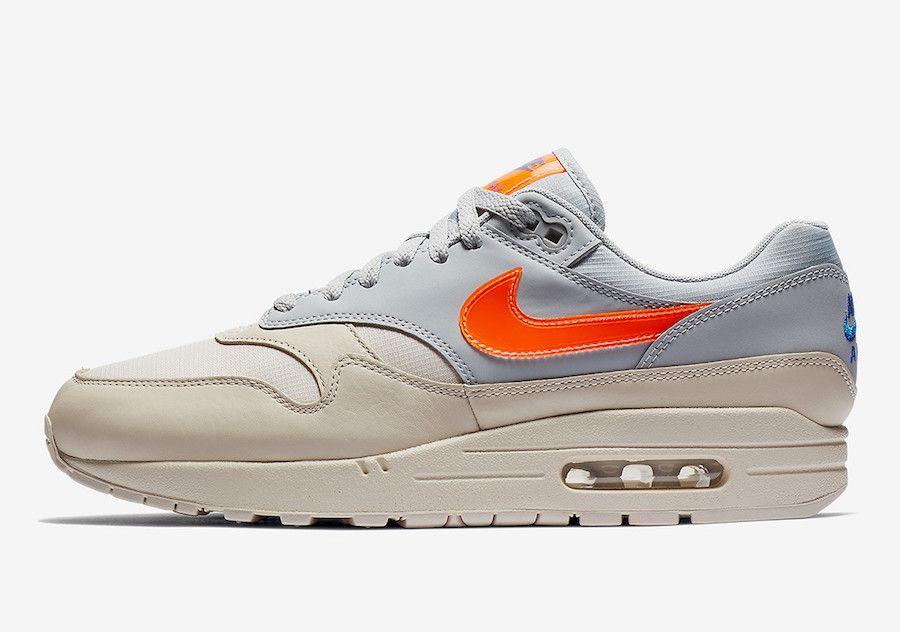 promo code 9f976 f07ad Nike Air Max 1 Desert Sand Total Orange AR1249-001