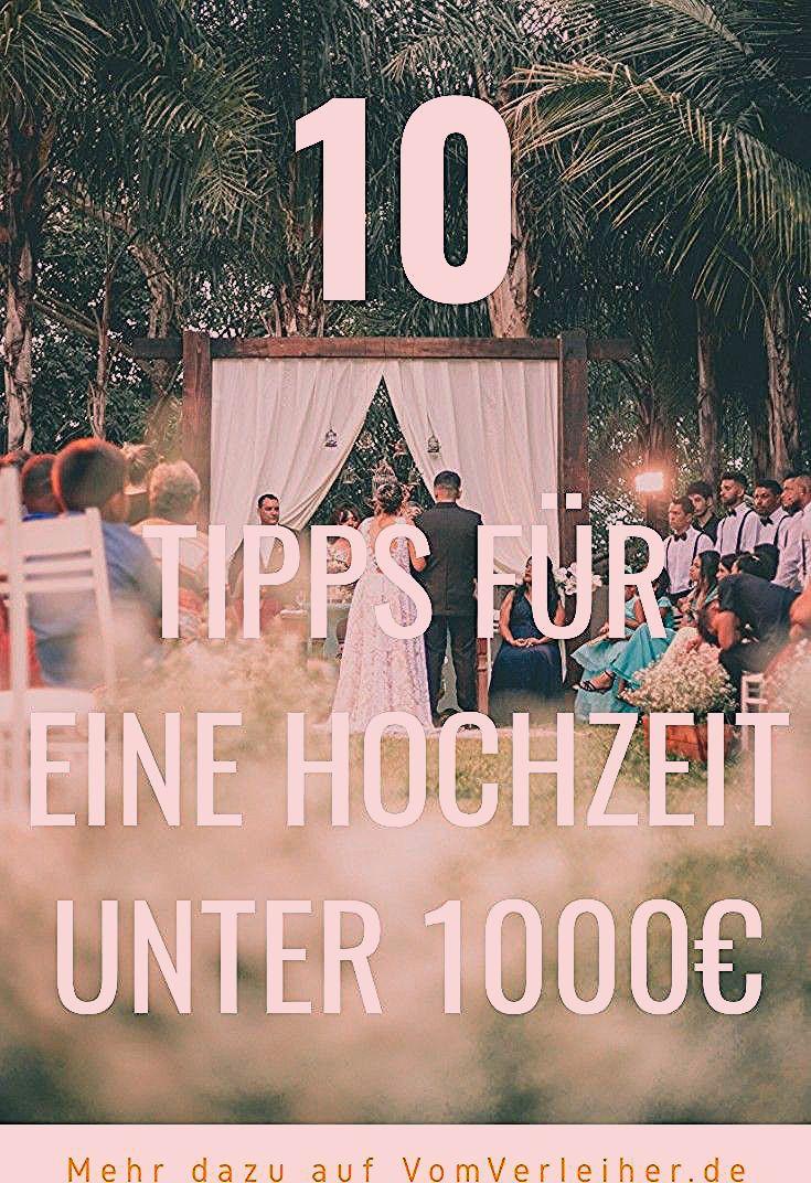 Photo of 10 Tipps: Heiraten für unter 1000€ – so geht's!