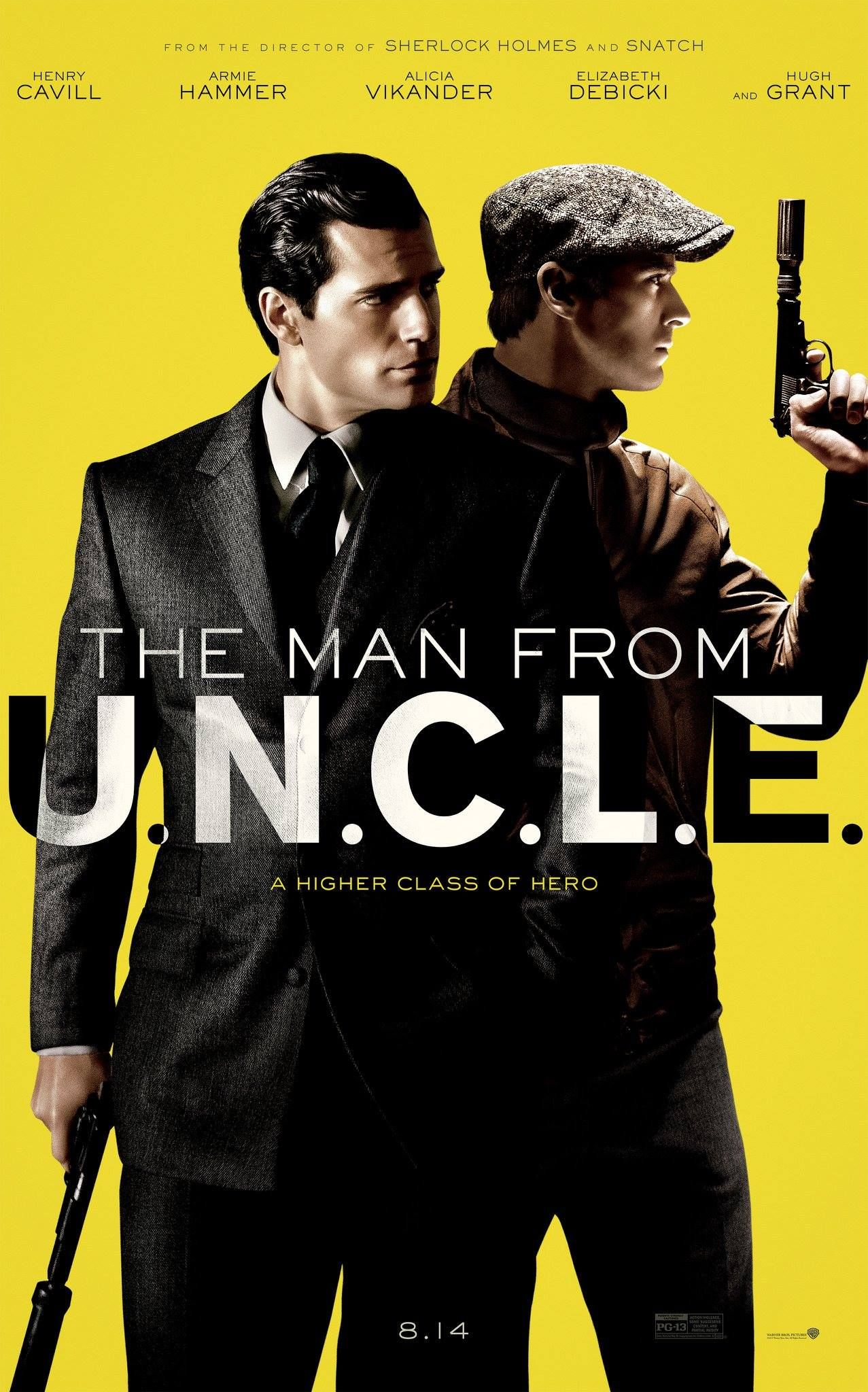 Meet the new men from U.N.C.L.E.: Henry Cavill as Napoleon Solo and Armie Hammer as Illya Kuryakin. | The Man from U.N.C.L.E.