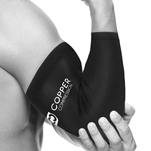 Copper Compression Ffp Recovery Elbow Sleeve Highest Copper Content Guaranteed Highest Quality Copp Elbow Braces Best Tennis Elbow Brace Tennis Elbow Brace