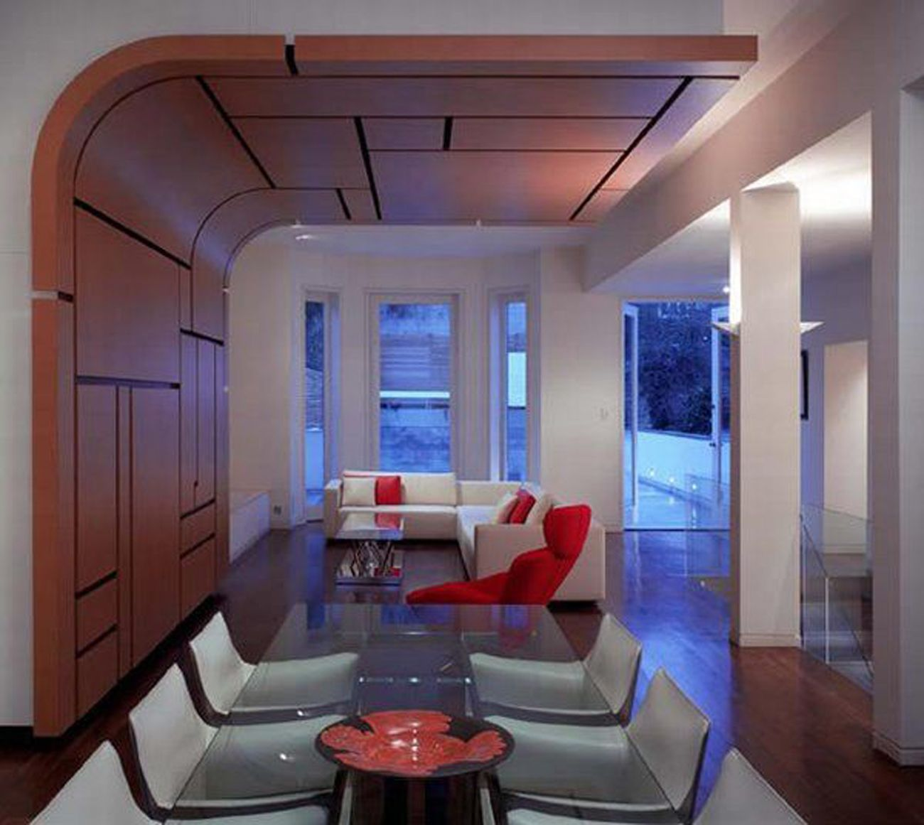 Amazing Interior, Cool Designing A Conference Room Ideas: Cozy Meeting Room With  Unique Wall And Ceiling Decoration Nice Design