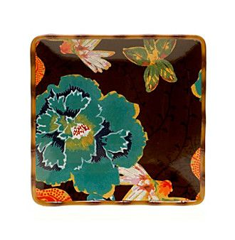 "Certified International by Tracy Porter® for Poetic Wanderlust® Eden Ranch Collection 14.5"" Square Platter"