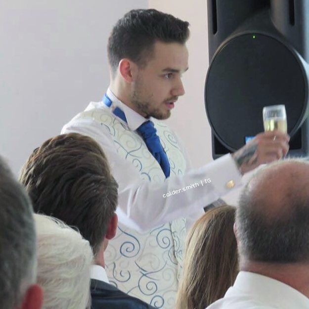 Liam at Ruth's wedding in Wolverhampton! - 11.06.16