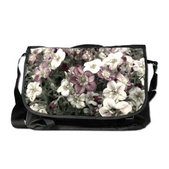 f855a467363d Romantic Flowers Messenger Bag Beautiful little flowers with a vintage feel   80.49