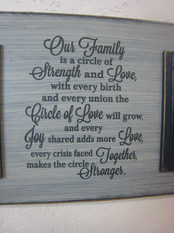 Our Family Is A Circle Of Strength And Love Circle Of Love Etsy In 2021 Family Strength Quotes Family Together Quotes Family Reunion Quotes