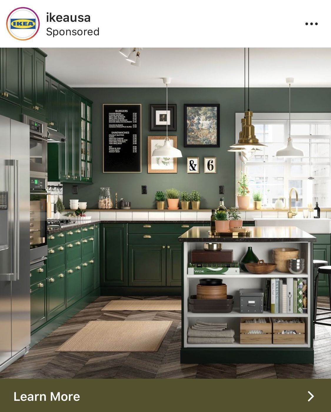 Green Kitchen Cabinets Ikea Cabinets Cabinets Green Ikea Kitchen Green Kitchen Cabinets Classic Kitchens Green Kitchen