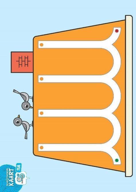 schrijfpatroonkaart2   Bodymap- Fijne motoriek - Leer schrijven ...