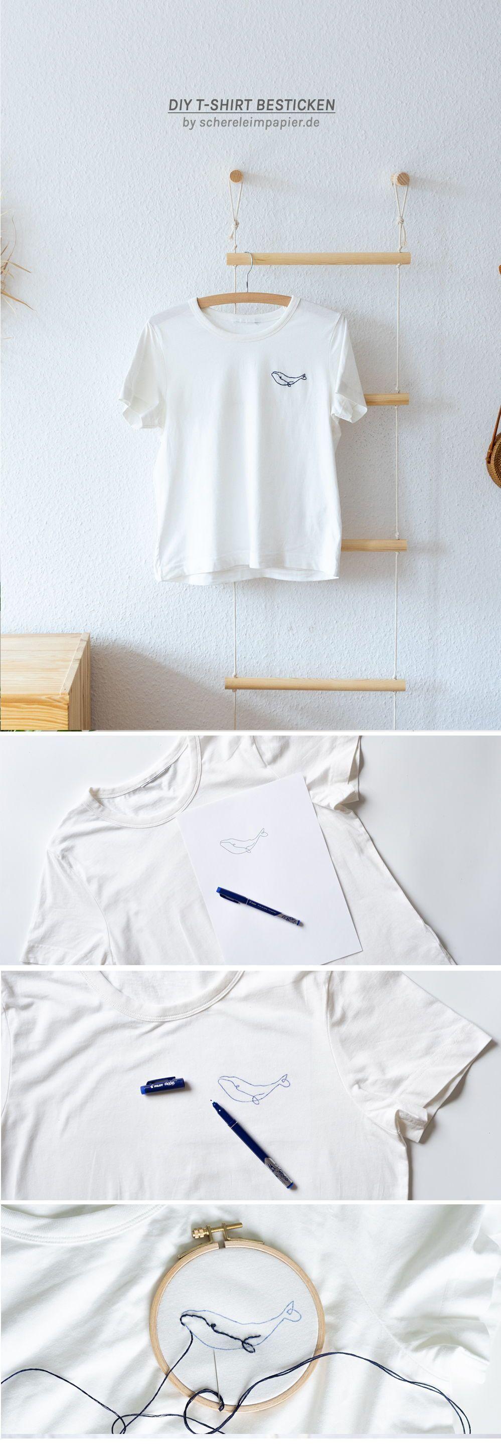 Photo of DIY-Stickerei – ein schnelles Update für Ihre Basic-Shirts – Upcycling Blog