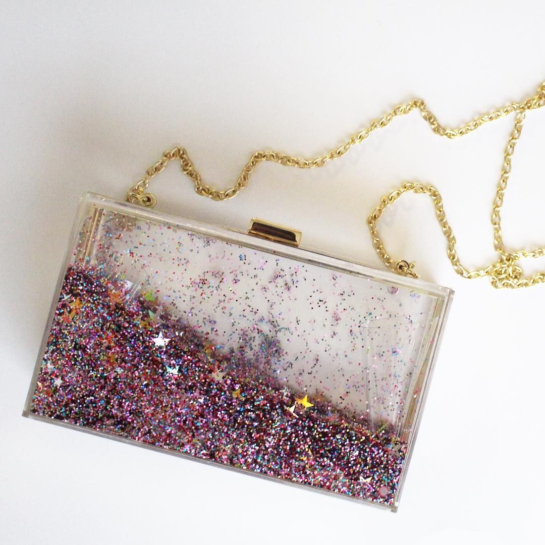 Glitter Clutch/Evening bag from Charming Charlies